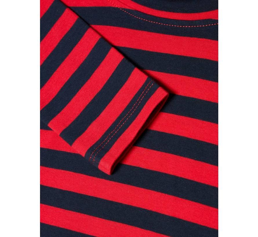 13163035 LS SLIM DRESS true red