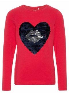 Name it 13160696 Nkfnisanin Shirt long sleeve virtual pink