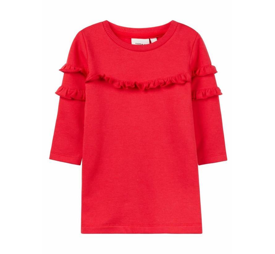 13156838 nbfnelisa dress true red
