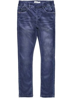 Name it 13158696 nkfpolly legging dark blue denim