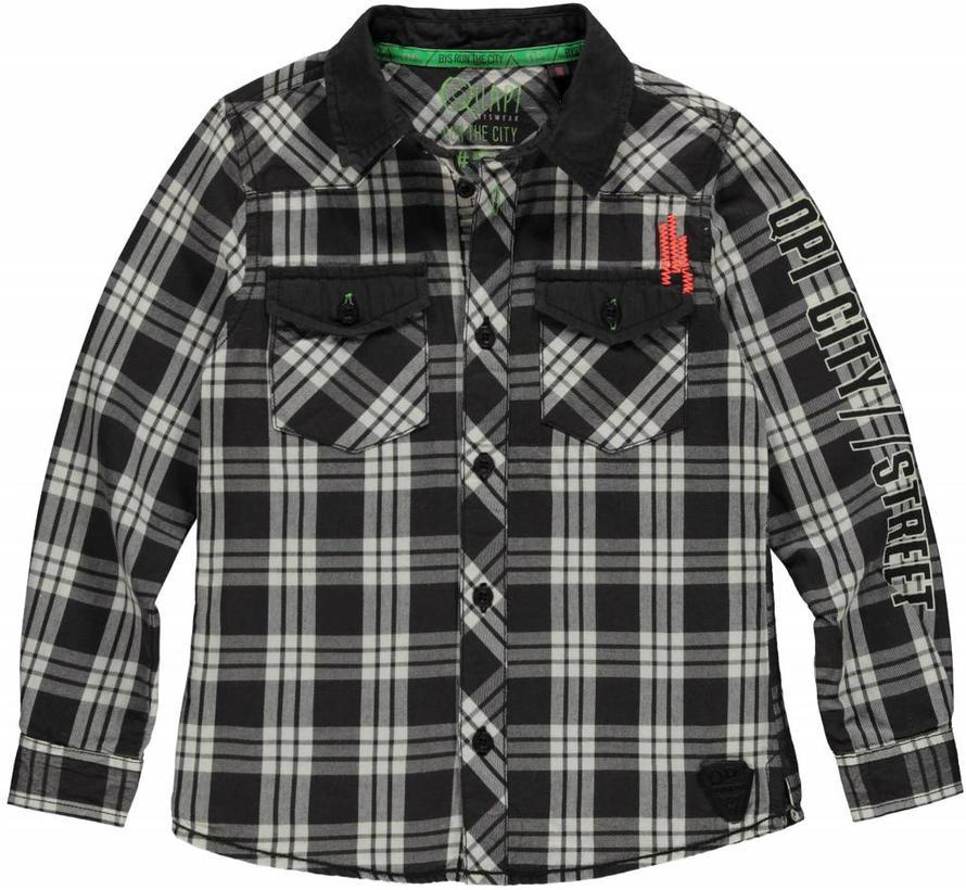 SALE Leendert antra check overhemd