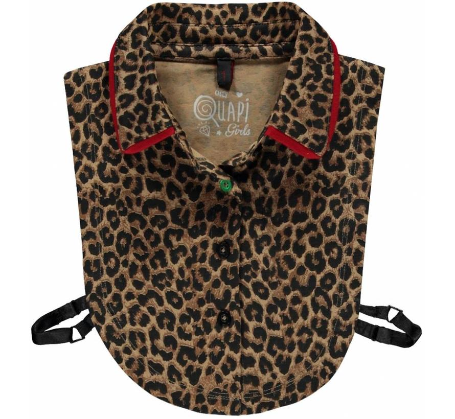 Lenneke 2 leopard collar