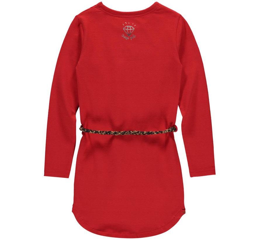 lamira 2 diva red dress