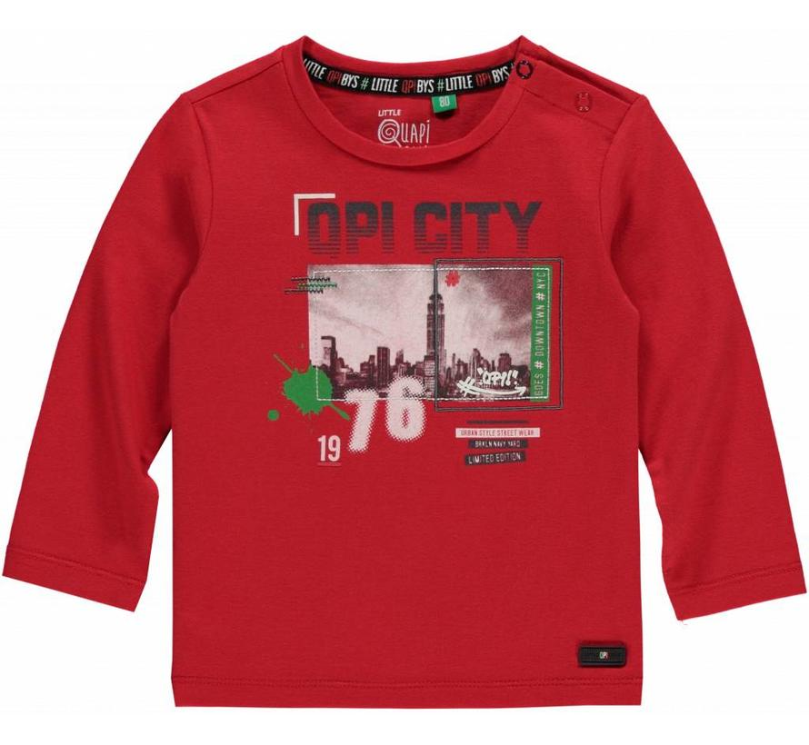 mart red long sleeve