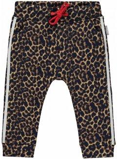 Quapi Monique leopard sweat pants