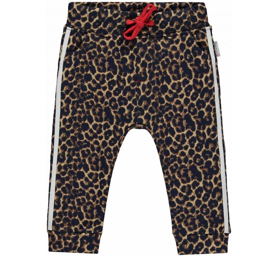 Monique leopard sweat pants