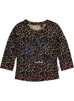 Quapi Mieke Leopard longsleeve