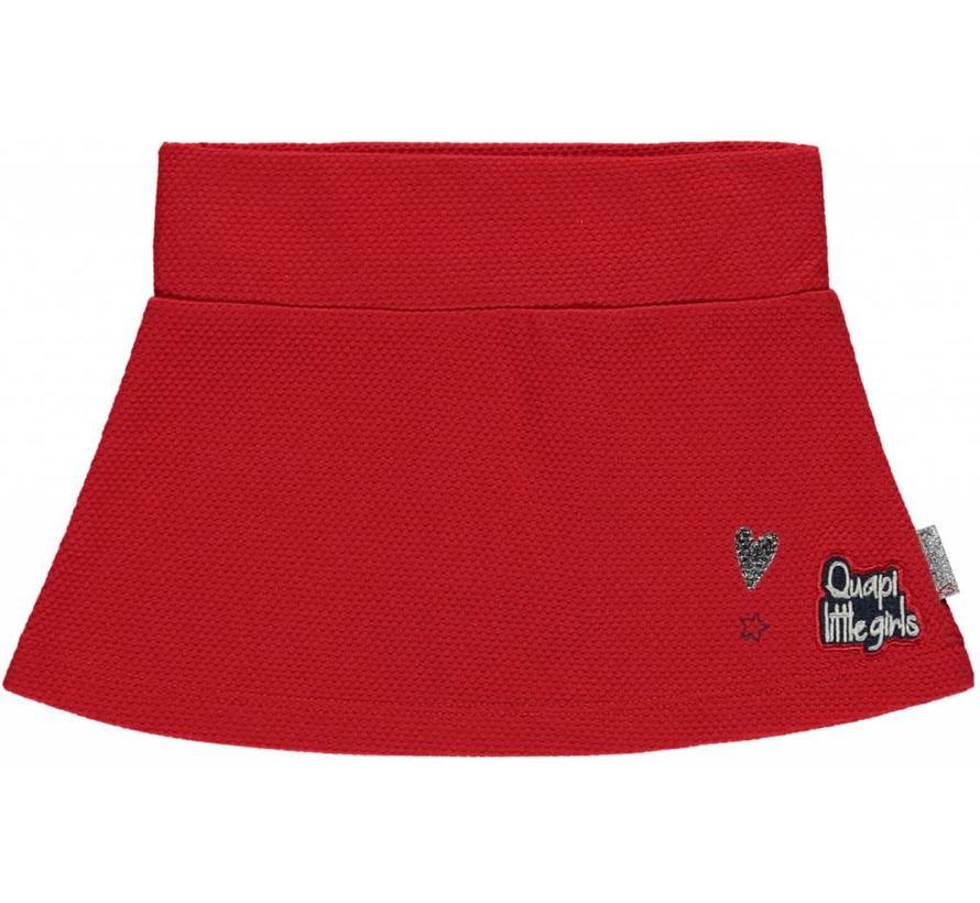 Molly skirt diva red