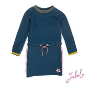 Jubel SALE 91400188 jubel jurk blue melange
