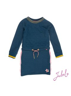 Jubel 91400188 jubel jurk blue melange