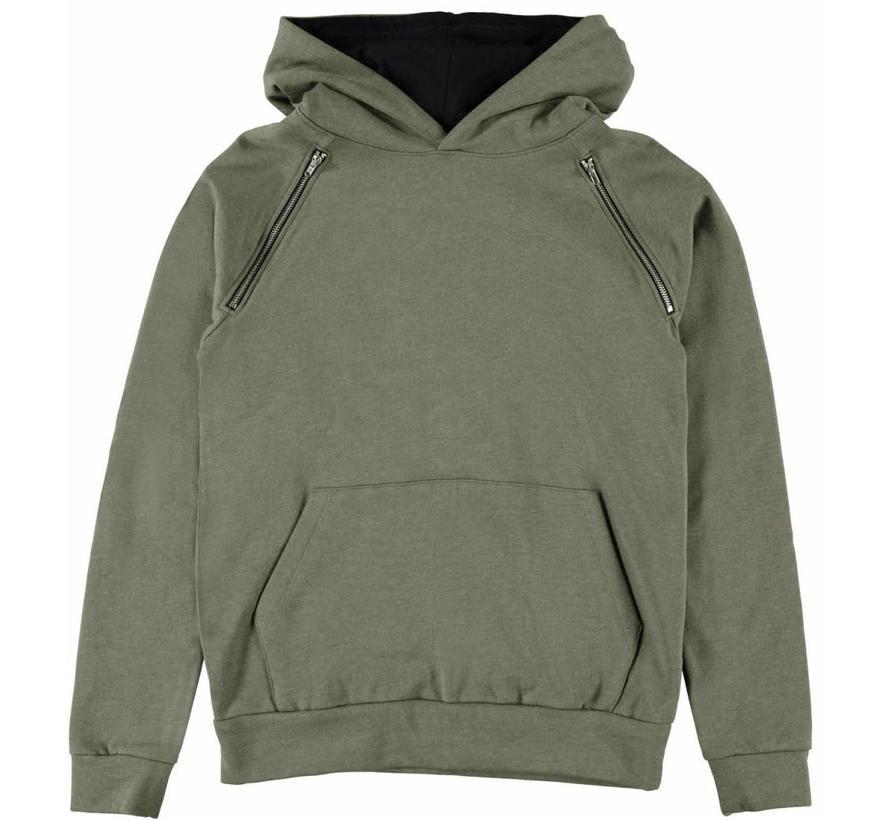13159847 Nlmolauge sweater ivy green