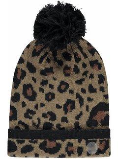 Quapi Latoya beanie leopard