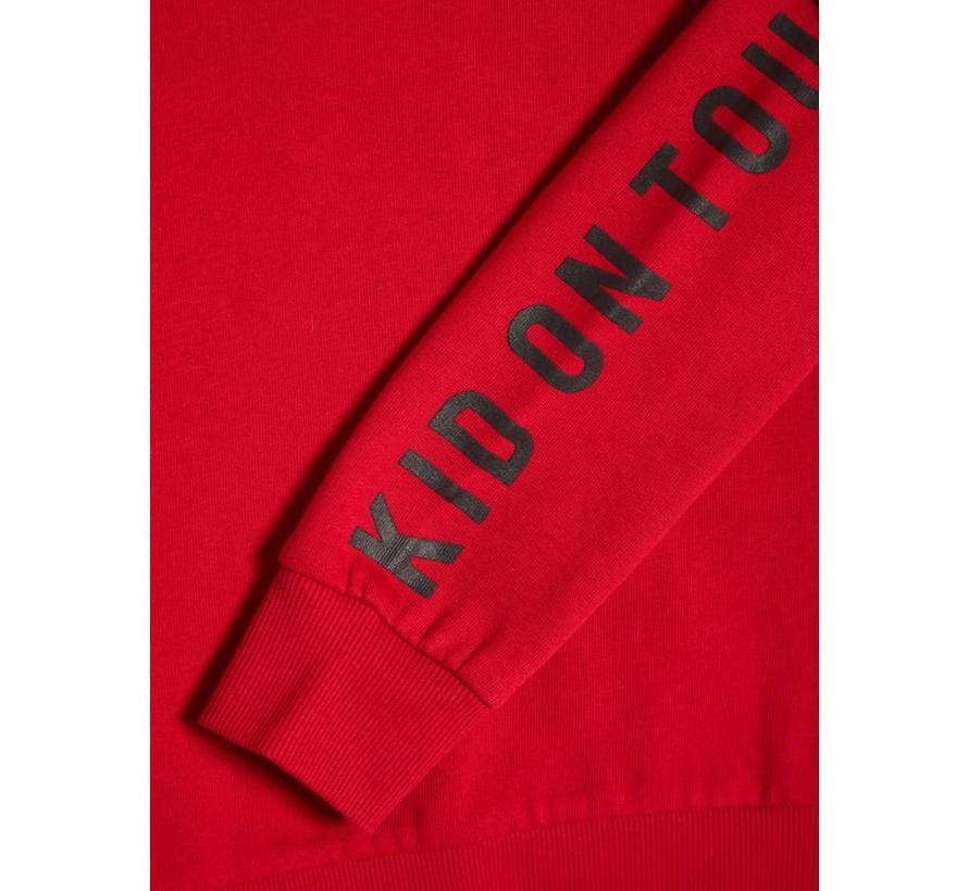 NKMOLE LS SWEAT WH BRU 13156986 jester red