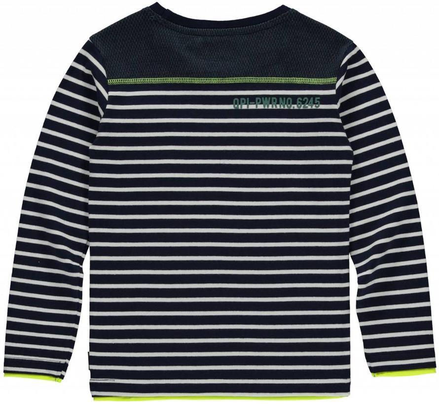 Levi longsleeve navy stripe