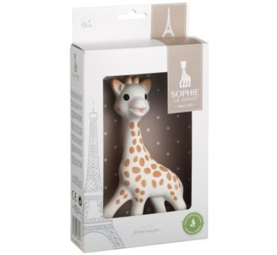 Sophie de Giraf in witte geschenkdoos