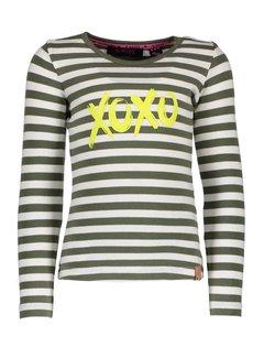 B.NOSY Y809-5482 936 t-shirt stripe crocodile