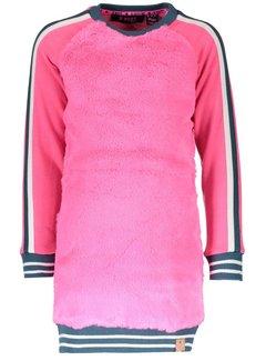 B.NOSY Y809-5882 283  jurk neon magenta