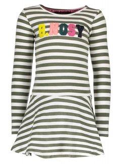 B.NOSY Y809-5883 936 jurk stripe crocodile