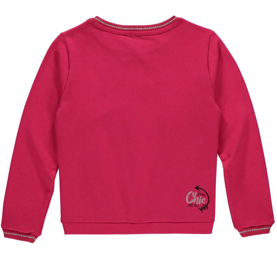 Lodi sweater sparkling red