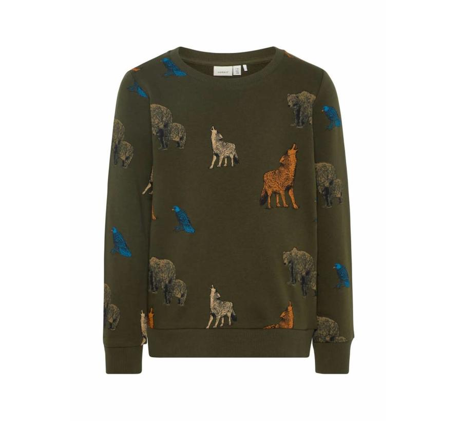 13162605 Nkmsituson sweater forest night