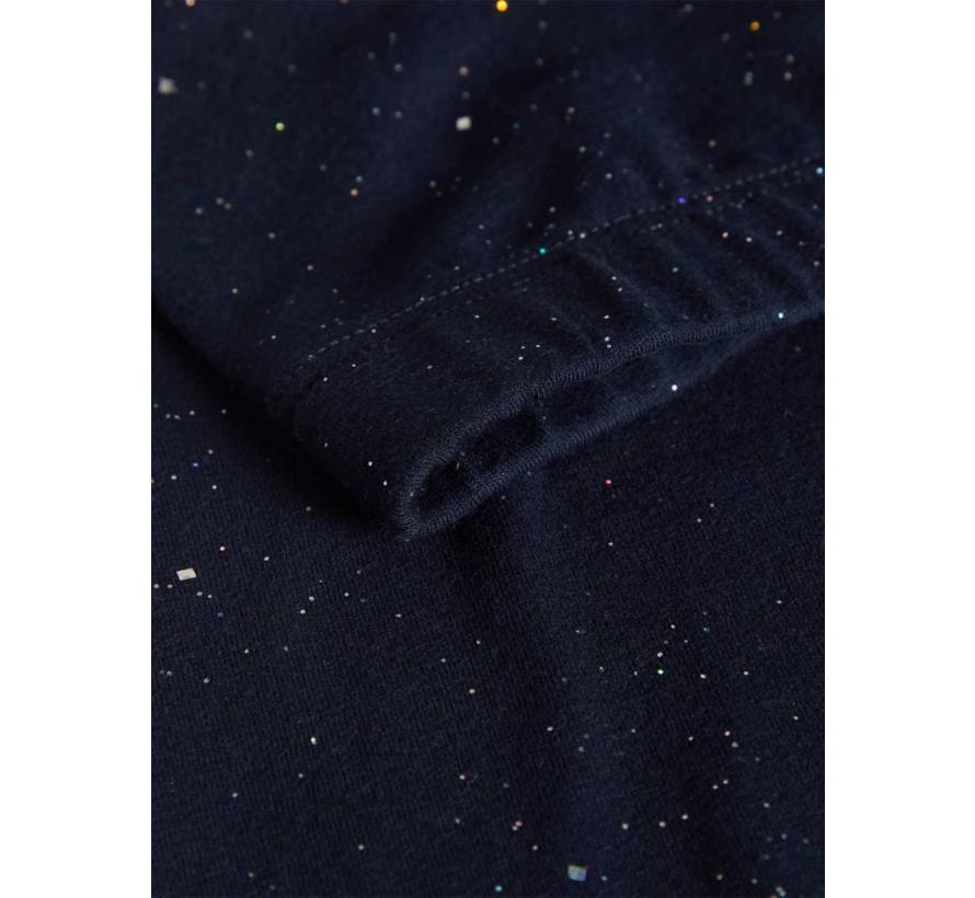 13159505 Nmfrashimmer legging dark sapphire