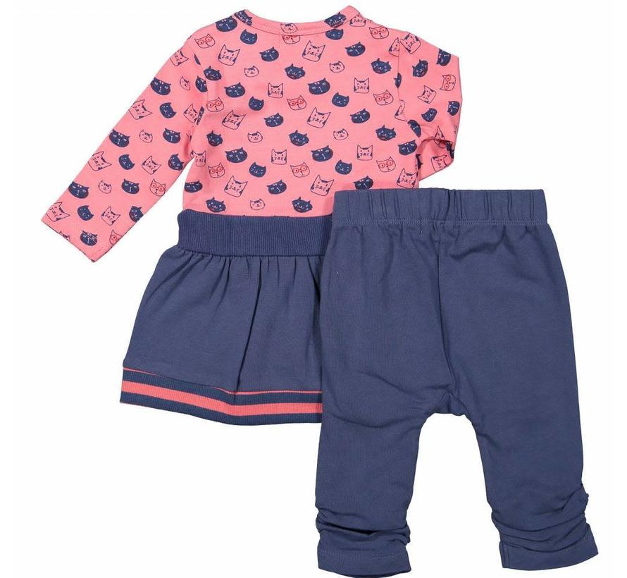 31Z-29308 2 delige set dress en legging