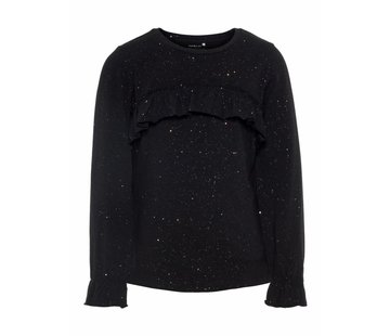 Name it glitter longsleeve met volant