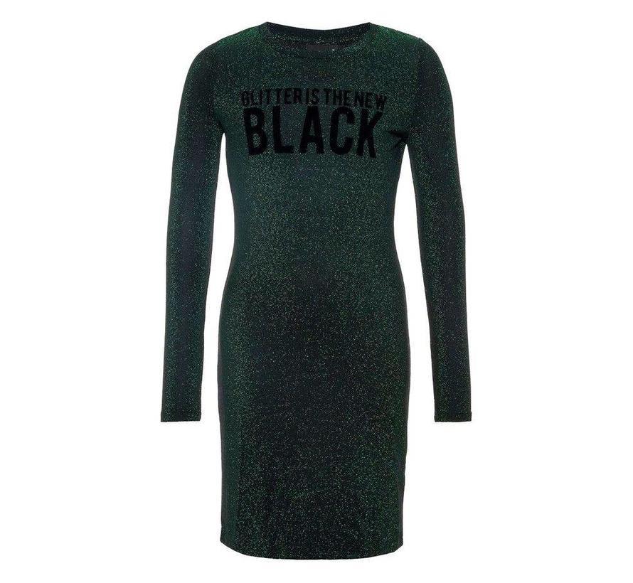 glitter jurk vanaf maat 140