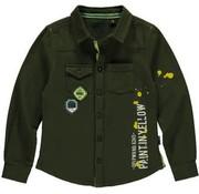 Quapi SALE Louis  overhemd dark green