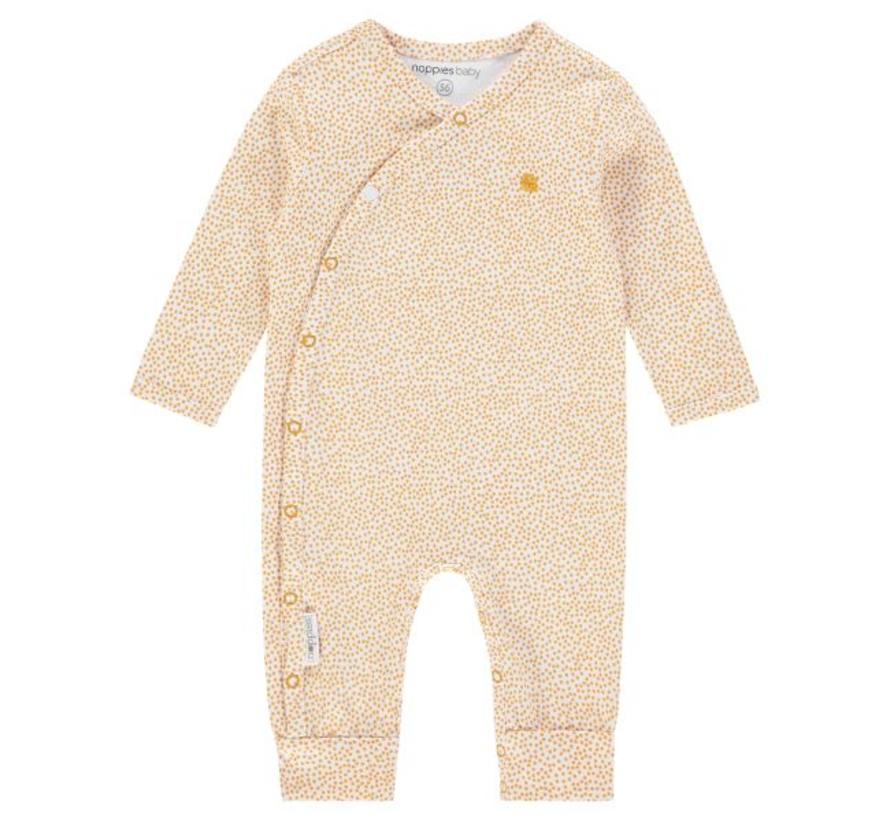 67393 Noppies playsuit honey yellow