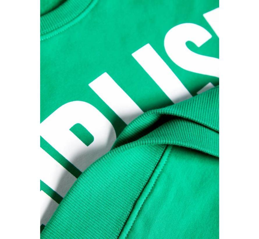 NKFTIARA LS LOOSE SWEAT BRU 13161234 jolly green