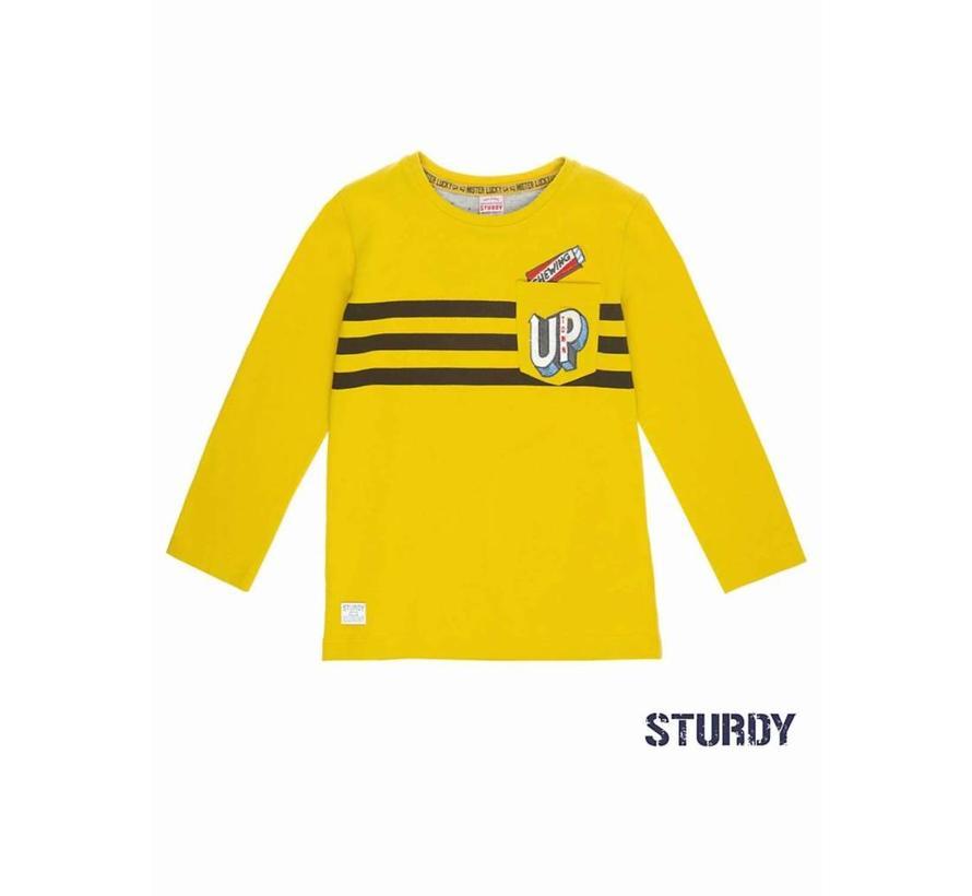 SALE 71600261 Sturdy longsleeve yellow