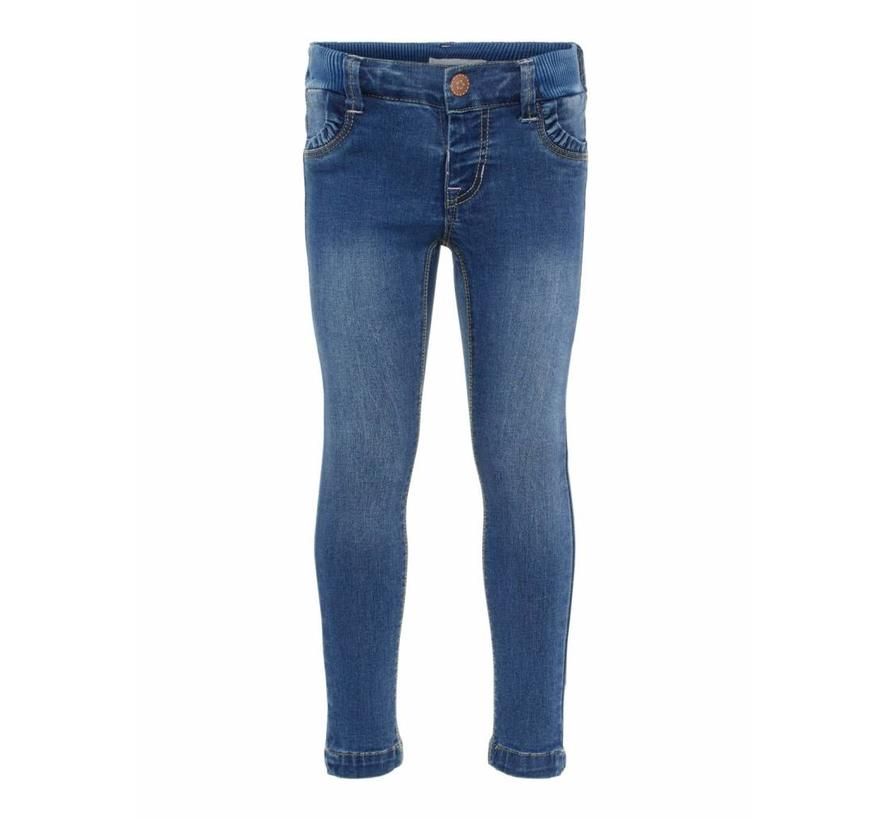 13160806 Nmfpolly dnmtrilla 2155 pant Medium blue denim
