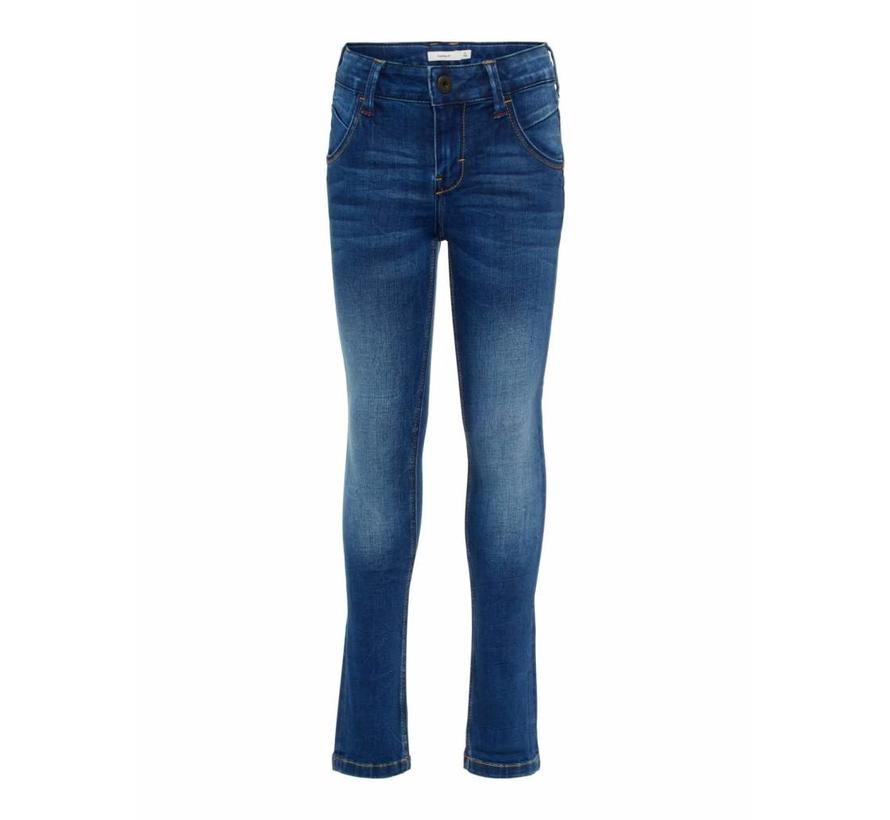 13160453 Nkmtheo Dnmtogo 3152 pant dark blue denim
