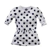Z8 SALE Maan dress bright white navy dot