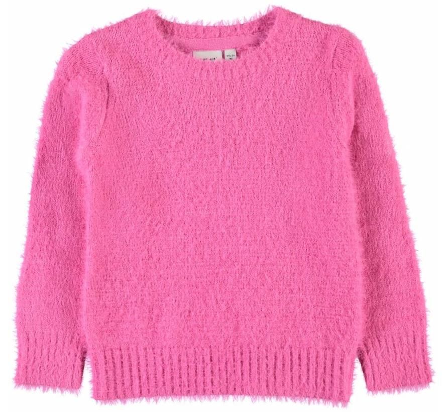 1316253 Nmfominna sweater knockout pink