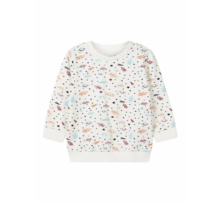 13159321 Nbmremme sweater snow white