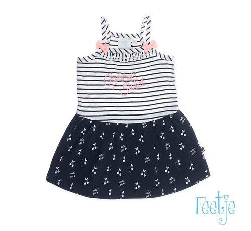 Feetje 51400253 jurk aop cherry sweet