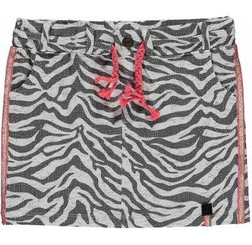 Quapi SALE Serra grey zebra rokje