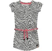 Quapi Saar grey zebra jurkje