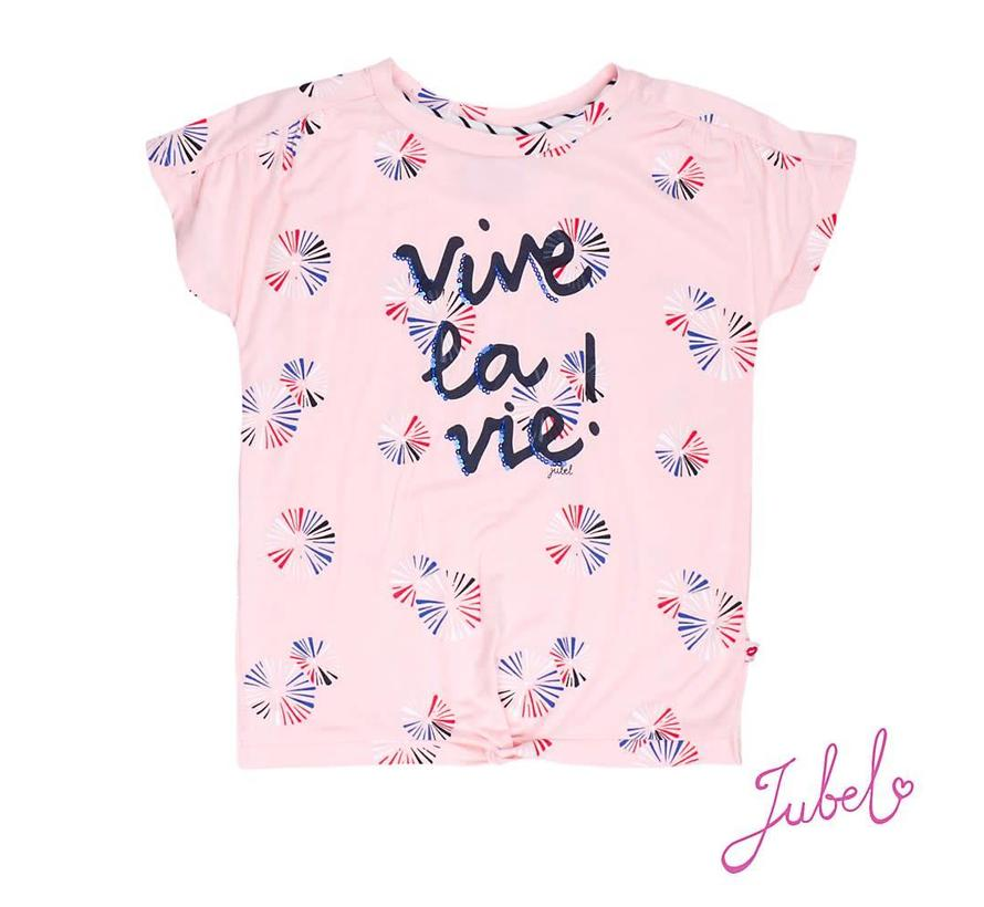 91700205 t-shirt pink