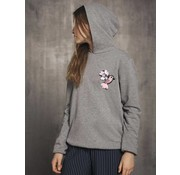 LMTD 13161850 Nlfbirdie loose sweat grey melange