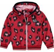 Quapi Rosie rouge red leopard jacket