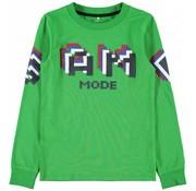 Name it NKMSENDER LS SLIM TOP 13169697 medium green