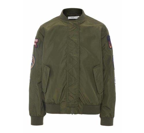 Name it 13161767 Nkmmars bomber jacket ivy green