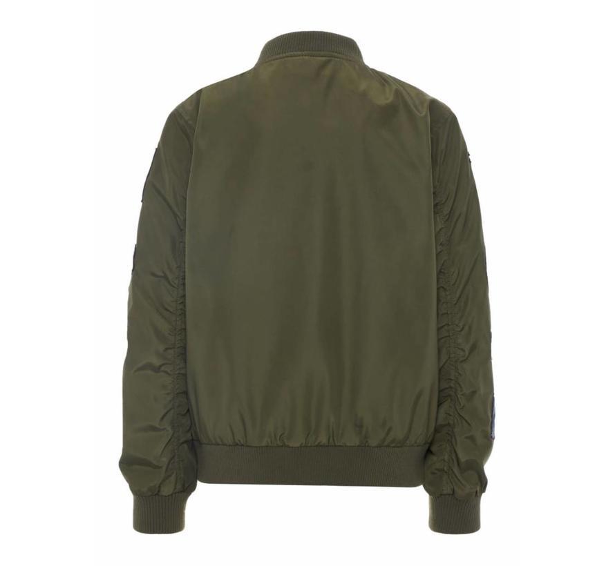 13161767 Nkmmars bomber jacket ivy green