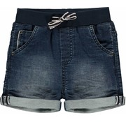 Quapi Rob jog denim shorts blue light denim