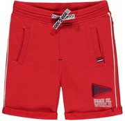 Quapi Roas sweat shorts red