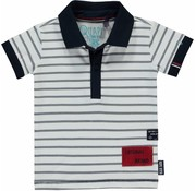 Quapi Rintje polo navy stripe