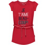 Quapi Saar 2 basic dress rouge red